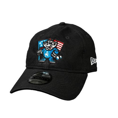 New Era 9-20 Black Flag Adjustable Cap