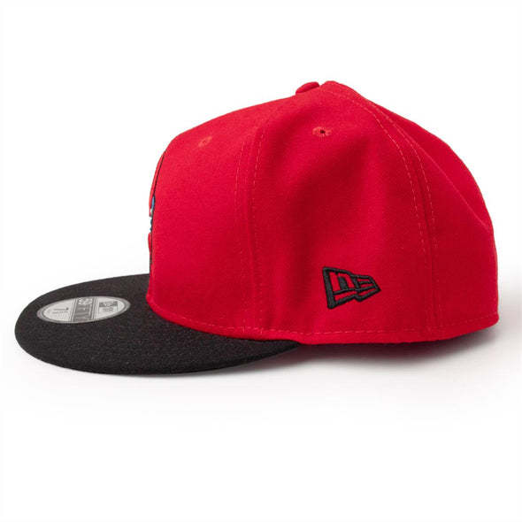 New Era 59-50 Red/Black RC Tail Fitted Cap