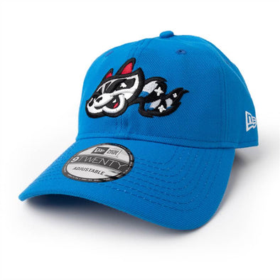 New Era 9-20 Adjustable Snapshot Blue Home Cap