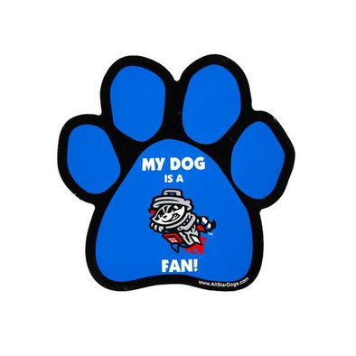 CAR MAGNET DOG PAW PRIMARY