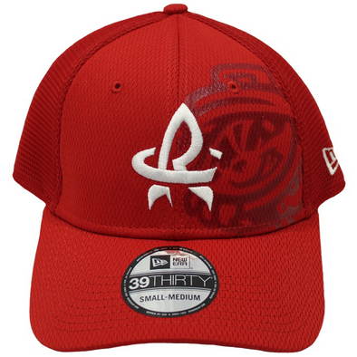 New Era 39-30 Flex Fit Tonal Neo Red w/ White RC Cap
