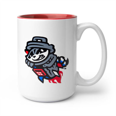 Coffee Mug - El Grande - Red/White Primary