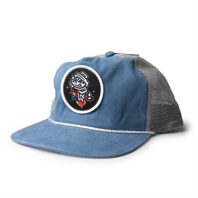 UNCLE CHARLIE LT BLUE/WHITE PRIMARY CAP