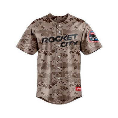 RAWLINGS AUTHENTIC SUNDAY CAMO JERSEY