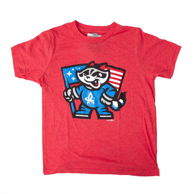 Youth Red Flag Triblend Tee