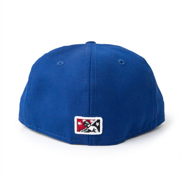 New Era 59-50 Lt Royal Home Fitted Global Custom Cap