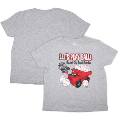 Toddler Grey Trucks T-shirt