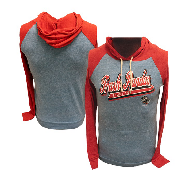 Ladies Royal Tri-blend Raglan Hoodie T-shirt