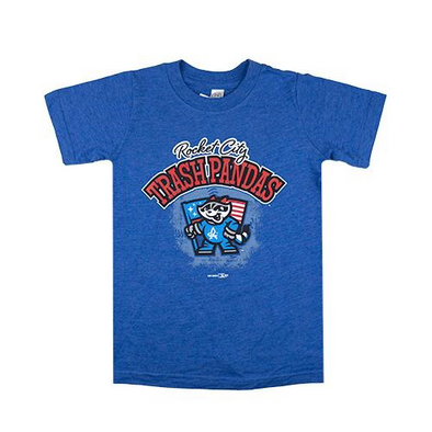 Toddler Royal Triblend Flag RCTP Tee