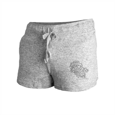 WOMENS GREY BOXER SHORT PRIMARY