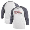 3/4 Long Sleeve Adult Home Raglan Navy