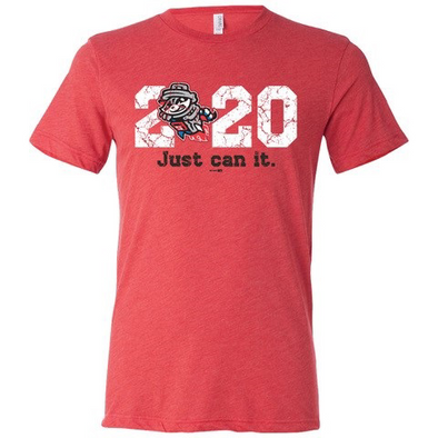 "2020 RED ""Just Can It"" Tri-blend T-shirt"