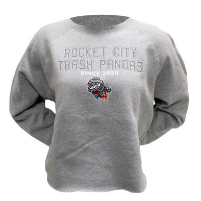 Retro Ladies RCTP Grey L/S Crop Top