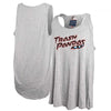 Ladies Home Lt Grey Triblend Tank