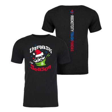 108 Unmask The Season Holiday Razorback T-shirt <br/>AVAILABLE FOR PRE-SALE