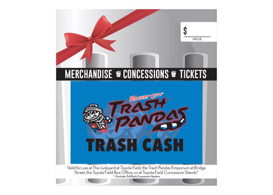 Trash Cash For In-Person Buying