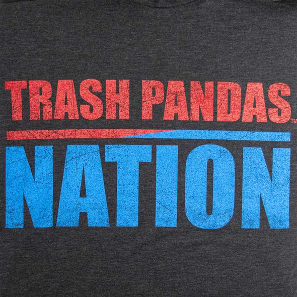 108 YOUTH BLK TRASH PANDA NATION