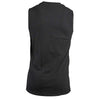 Men's Sleeveless Black Combo Logo Shirt