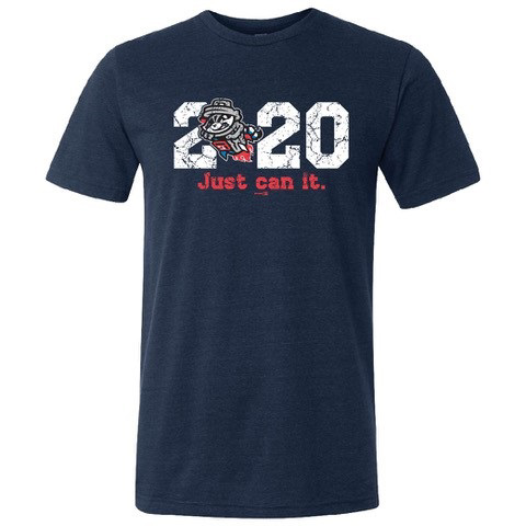 Navy - 2020 Just Can It - Tri-blend T-shirt