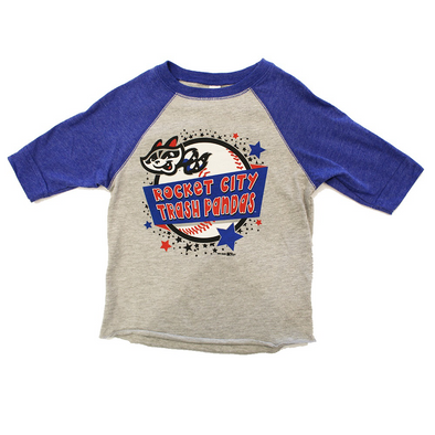 Toddler Royal 3/4 Sleeve Sparx T-shirt