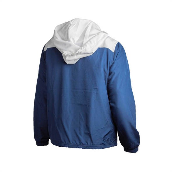WOMENS NAVY/WHITE PRIMARY WINDBREAKER