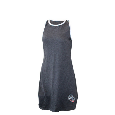 Boxercraft Dress in Charcoal/Heather Grey Primary - Style: Ringer