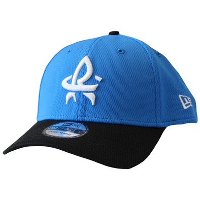 New Era 39-30 Flex Fit BP Snapshot Blue w/ Black Brim and White RC Cap