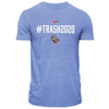 Hashtag Lt Royal Tri-blend T-shirt