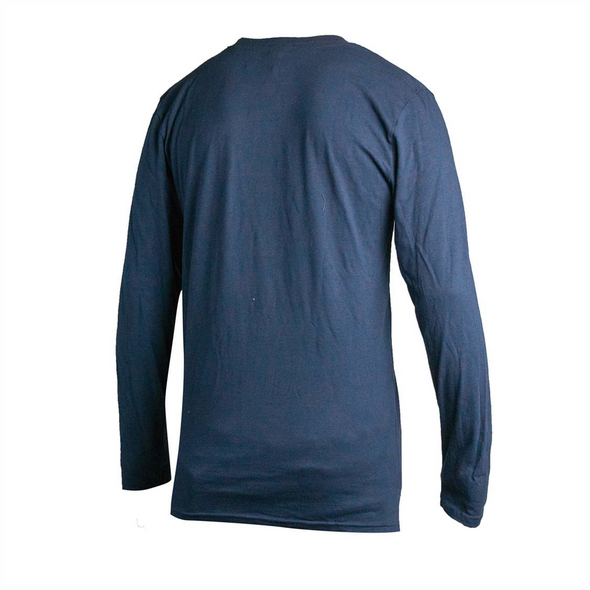 LONG SLEEVE VINTAGE NAVY DRESSING TEE