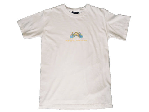 King's Yellow White Tee