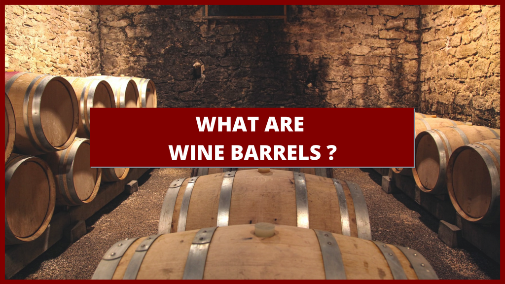 What are wine barrels ?