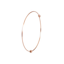 Load image into Gallery viewer, Joyce Hoop Earrings - Rose Gold Filled