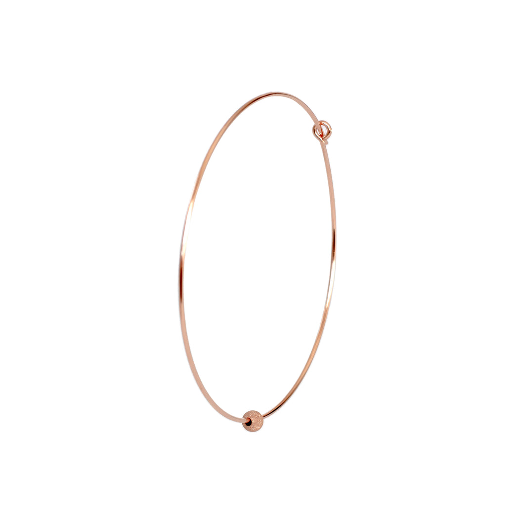 Joyce Hoop Earrings - Rose Gold Filled