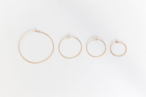 Marimar Hoop Earrings - Gold Filled