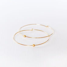 Load image into Gallery viewer, Joyce Hoop Earrings - Gold Filled