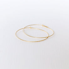 Load image into Gallery viewer, Marimar Hoop Earrings - Gold Filled
