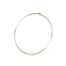Load image into Gallery viewer, Beverly Hoop Earrings - 14k Rose Gold Fill