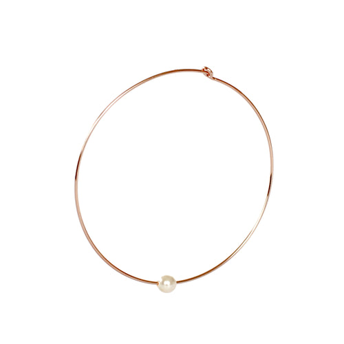 Beverly Hoop Earrings - Rose Gold Filled