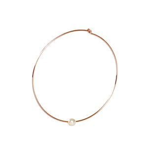 Beverly Hoop Earrings - 14k Rose Gold Fill