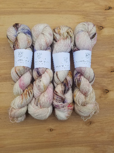 Dyed to Order - Lavender Brown - Eighty Twenty - Superwash Merino Nylon - 400 yards