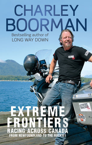 Extreme Frontiers - Canada, Book Signed [PB]