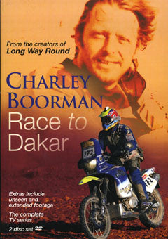 Race to Dakar - Collectors Set Combo DVD, Signed Book, Quality Photo plus Bumper Sticker SALE
