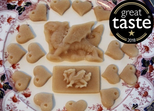 Award winning Wide Awake Ewe -Coffee flavoured natural confectionery with Welsh ewe's milk.