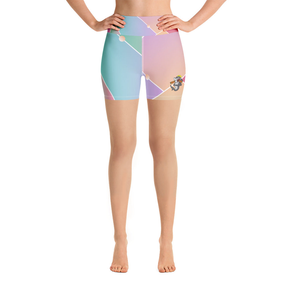 Mirror House Yoga Shorts - RAWiMPACT