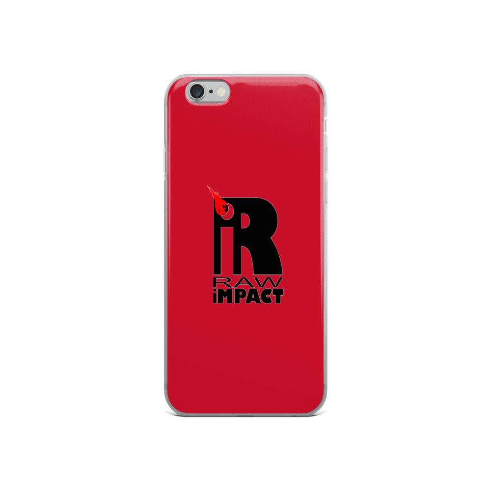 Red Revolution iPhone Case - RAWiMPACT