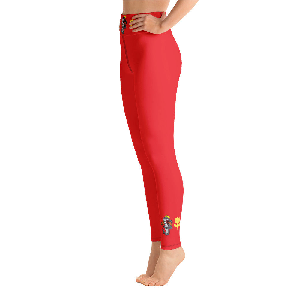 Rose Bowl Yoga Leggings - RAWiMPACT
