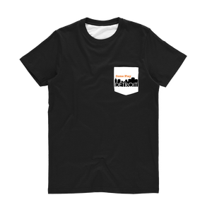 ComePlayDetroit Classic Sublimation Pocket T-Shirt