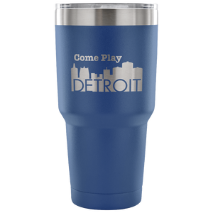 30oz Tumbler - Come Play Detroit