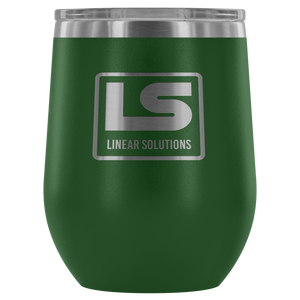 Linear Solutions Wine Tumbler