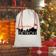 ComePlayDetroit Sublimation Linen Drawstring Sack
